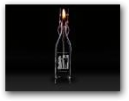 Glass Candle  » Click to zoom ->