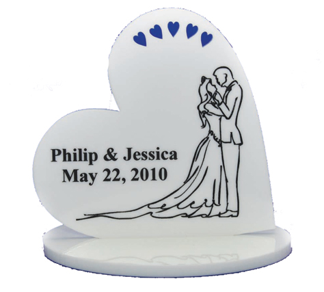 Engraved Wedding plaque